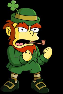 Leprechaun_the_simpsons